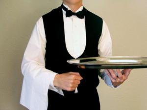 фото официанта форма