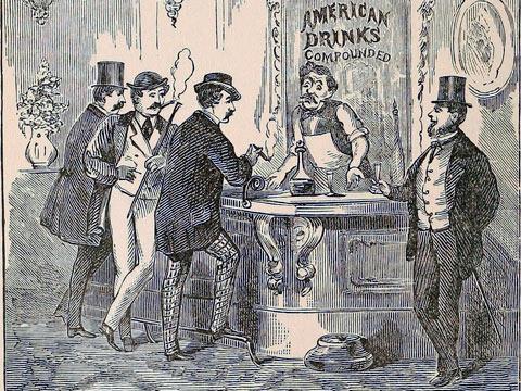 бармен история 1900 год