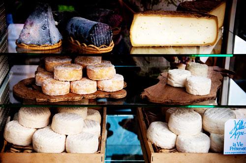 витрина сыров