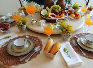 Сервировка стола к завтраку схема и основные правила